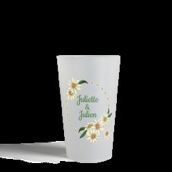 Gobelet CUP 25 - Fleurs...