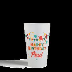 Gobelets CUP 25 - Happy Birthday